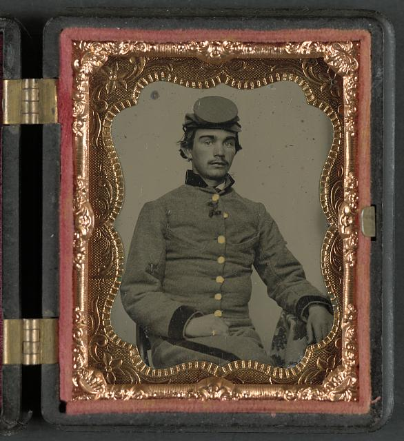 [John W. Anthony of Company B, 11th Virginia Infantry Regiment, Southern Guards]