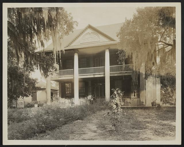 Unidentified house, Natchez vic., Adams County, Mississippi