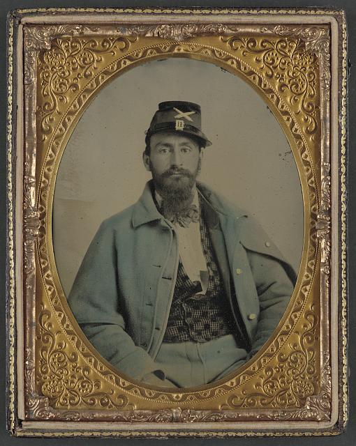[Unidentified soldier from Union artillery uniform]