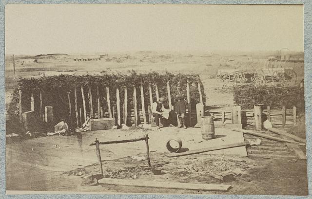Confederate fortifications, Manassas, Va. March 1862