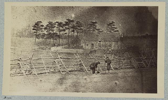 Battlefield of Bull Run, Matthew's house