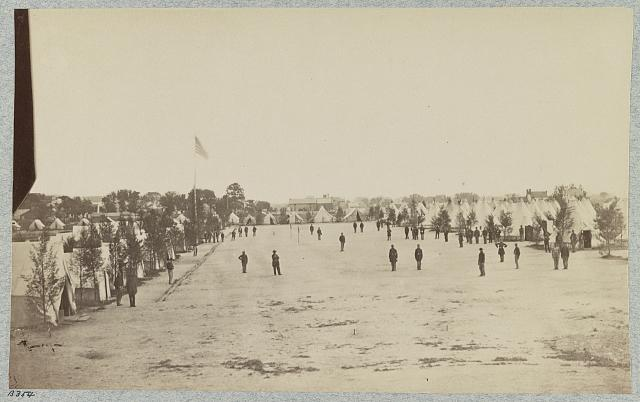 Camp of 153d New York Infantry