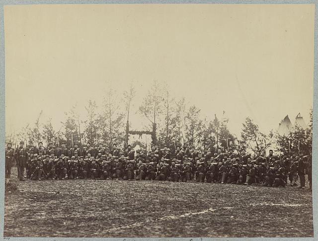 Co. A, 6th Vermont Infantry - Camp Griffin, Va.
