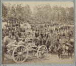 Benson's Horse Battery (M. 2d U.S. Art'y) near Fair Oaks, Va., June 1862