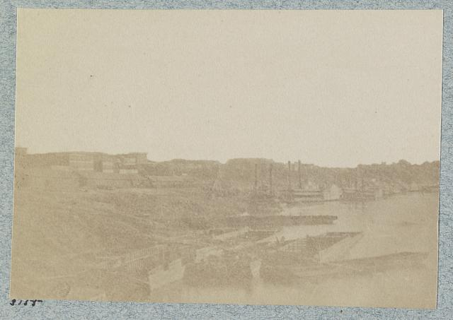 Levee at Memphis, Tenn., 1864