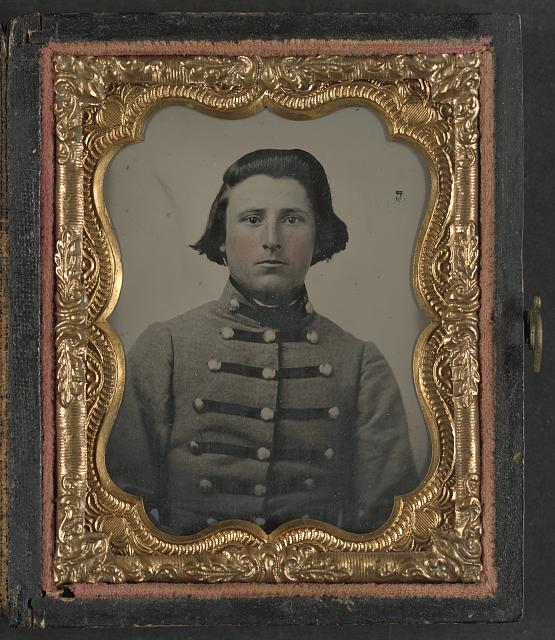 [Private James B. McCutchan of Co. D, 5th Virginia Infantry Regiment]