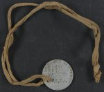 digital file from original item, front of dog tag
