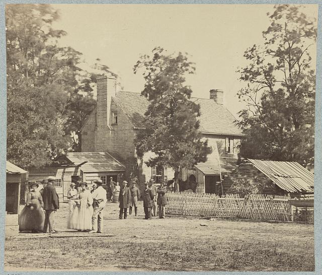 Yellow Hospital, Manassas, Va., July 1862