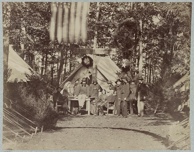 U.S. Sanitary Commission at Gettysburg General Hospital, August, 1863