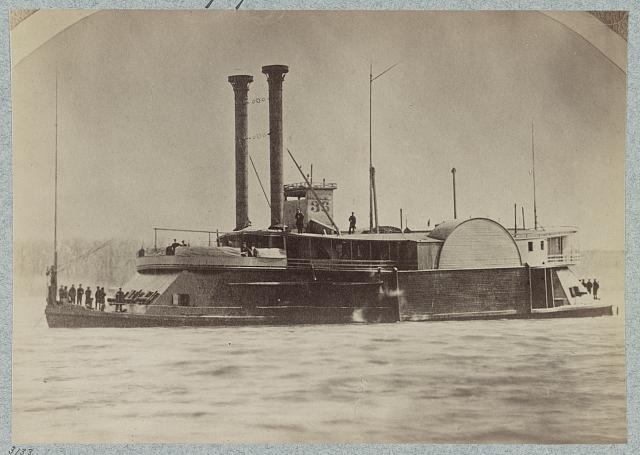 U.S. gunboat Peosta - Mississippi River Fleet