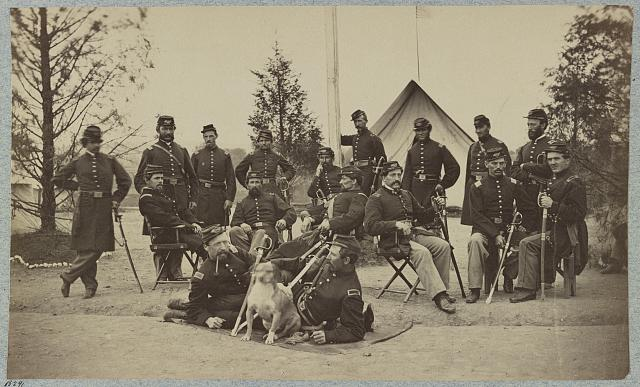 Officers of 153d New York Infantry