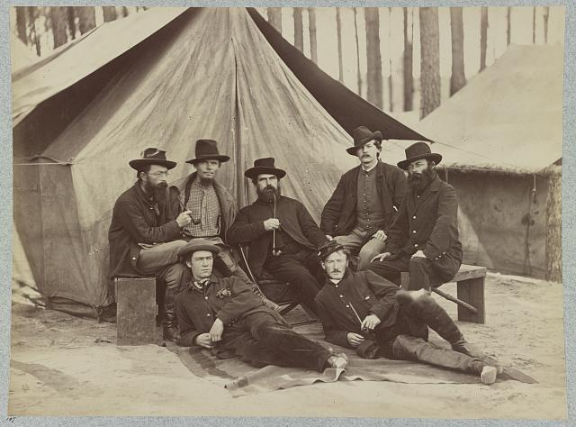 Assistant engineers at headquarters Army of Potomac, November, 1864
