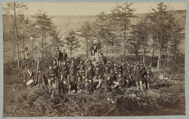 Co. - , 170th New York Infantry on reserve picket duty