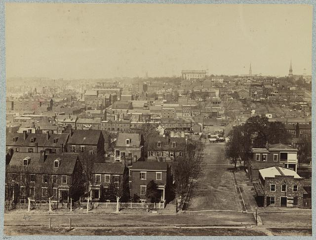 Richmond, Virginia, April, 1865, looking westward