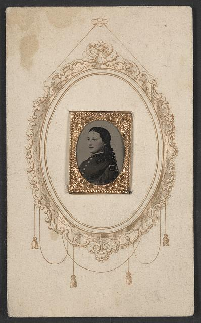 [Unidentified woman in uniform]