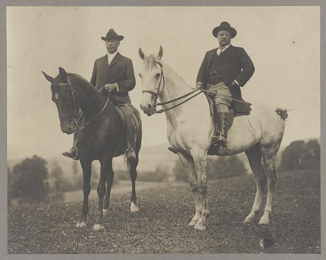 Col. Theo. Roosevelt and his brother in law, Douglas Robinson