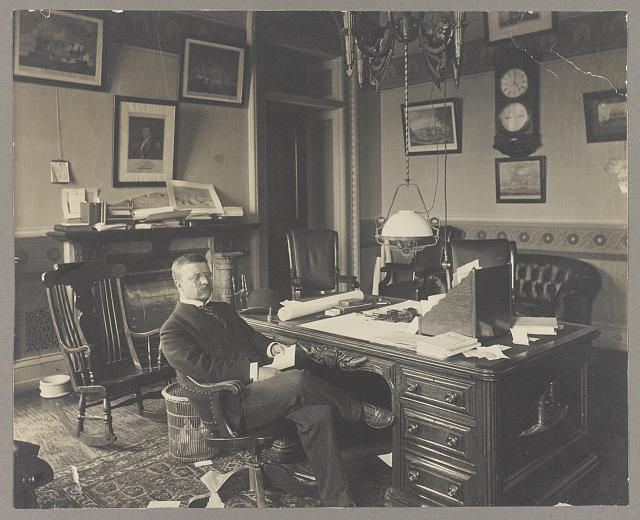 Theodore Roosevelt in office