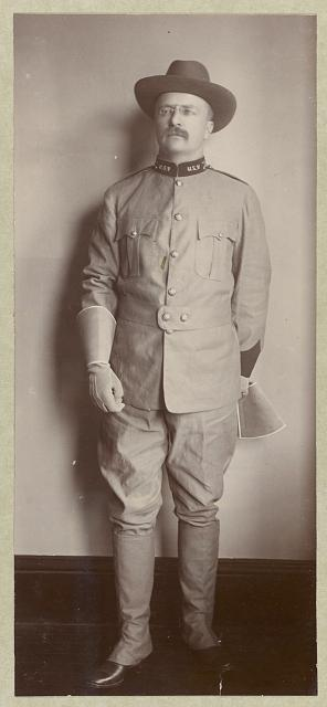 [Roosevelt (Col. Theodore) in uniform]