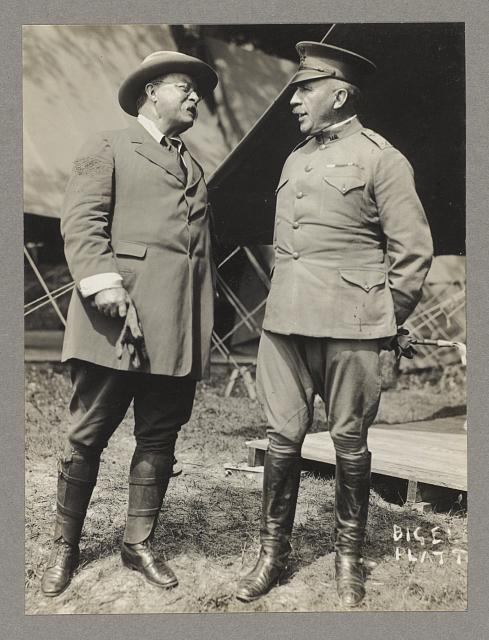 Hon. Theodore Roosevelt and General Wood