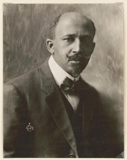 W.E.B. (William Edward Burghardt) Du Bois, 1868-1963