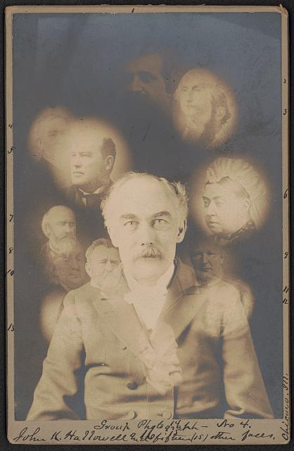 John K. Hallowell and fifteen (15) other faces