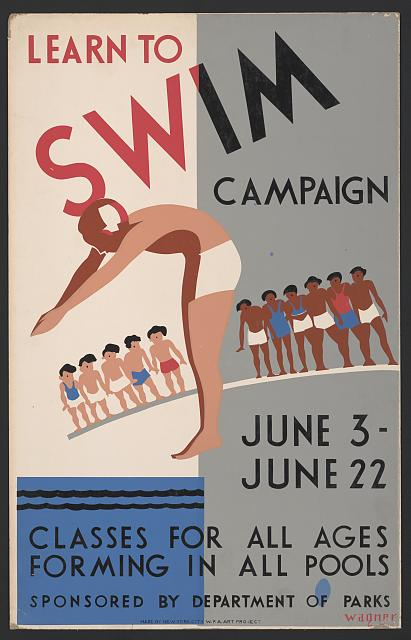 Learn to swim campaign Classes for all ages forming in all pools /