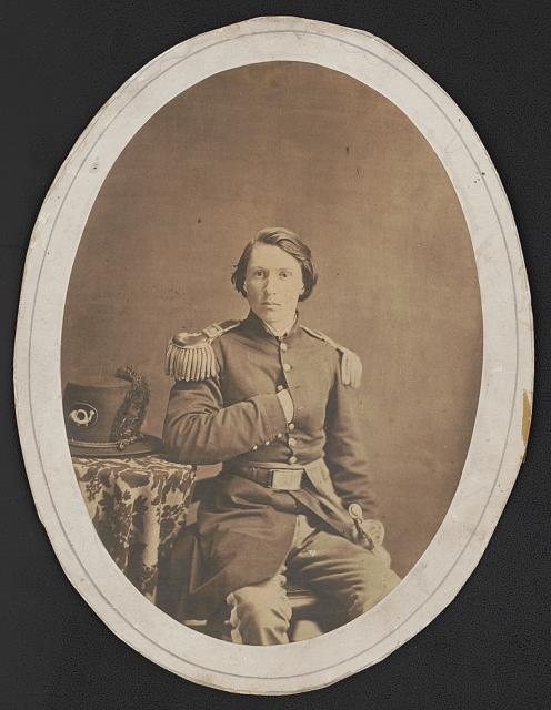 [Achilles Perrin of Kentucky Military Institute in uniform]