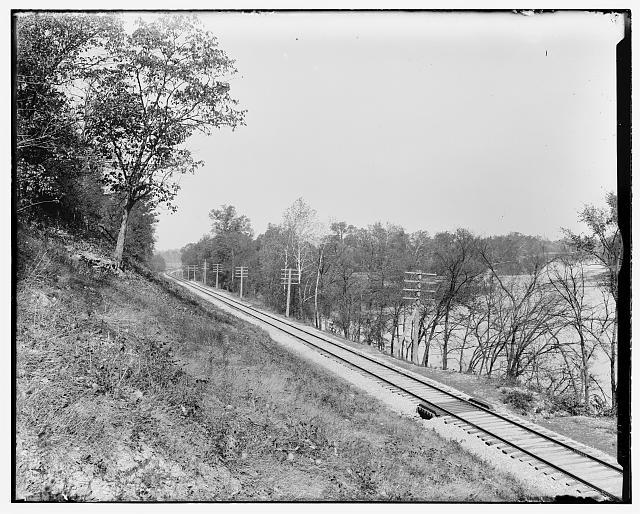 [Railroad at Narrows]