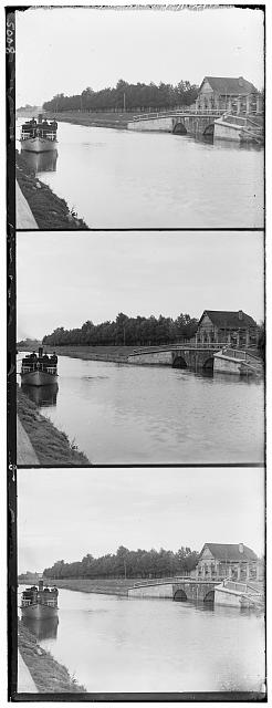 [The floodgate at the third versta from the town of Shlisselburg]