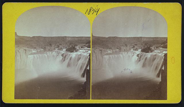 Shoshone Falls, Snake River, Idaho.