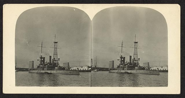 [USS Oregon at Portland, Oregon]