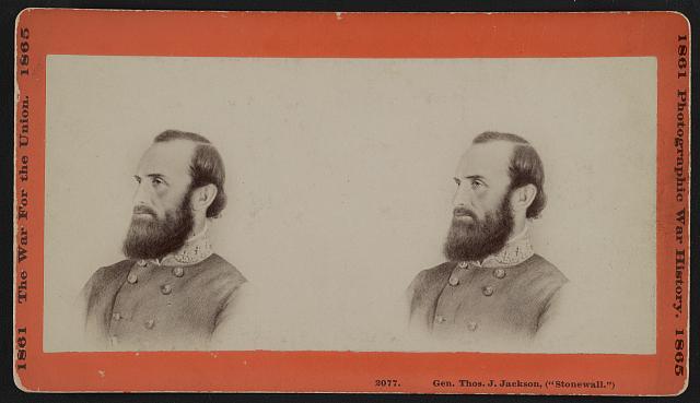 """Gen. Thos. J. Jackson, (""""Stonewall"""")"""