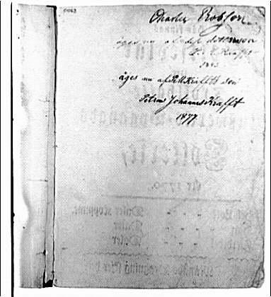 Folger Library copy work. Folger Library manuscript III