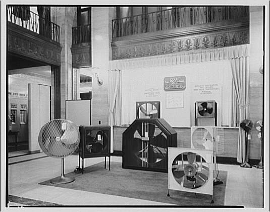 Electric Institute of Washington, Potomac Electric Power Co. Air conditioning displays II