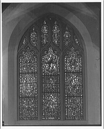 St. Mary's Episcopal Church. Stained glass window II