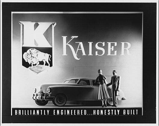 McArthur Advertising Corporation, 2480 16th Street. Kaiser auto display at Union Station I