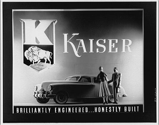 McArthur Advertising Corporation, 2480 16th Street. Kaiser auto display at Union Station II