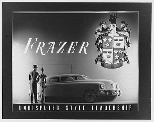 McArthur Advertising Corporation, 2480 16th Street. Frazer auto display at Union Station I
