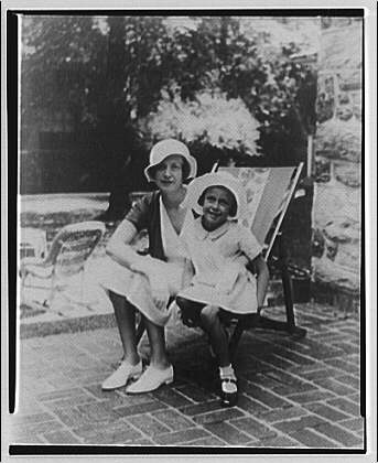 Ernest T. Trigg. Daughter and granddaughter
