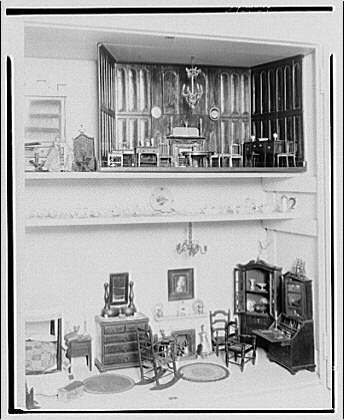 Mrs. Bonsol, residence. Miniature furniture of Mrs. Bonsol XI