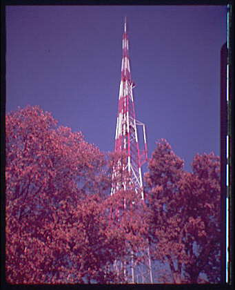 Tower. Radio or television tower