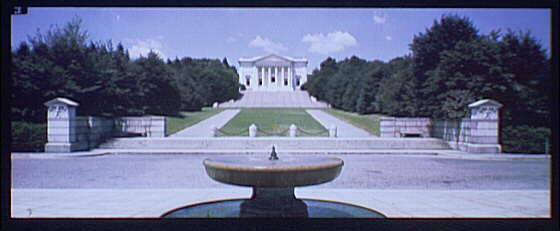 Arlington National Cemetery. Amphitheater and approaches