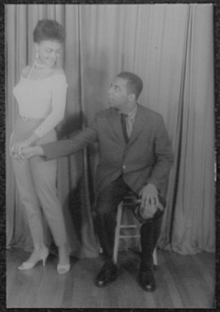 [Portrait of Ethel Ayler and Melvin Stewart, as Zirata and Simple (respectively) in Simply Heavenly by Langston Hughes]