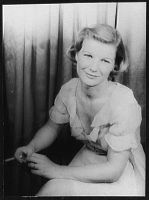 [Portrait of Barbara Bel Geddes, Cat on a Hot Tin Roof]
