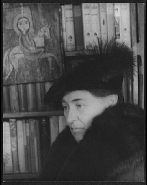 [Portrait of Willa Cather]