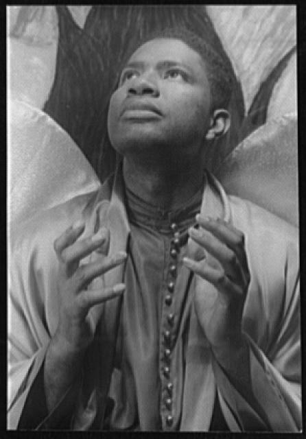 [Portrait of Ossie Davis, as Gabriel in The Green Pastures]