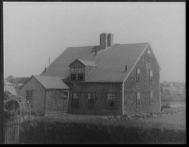 [Richard Gardner, Jr. (or III?) house at 32 West Chester St., Nantucket, Massachusetts]