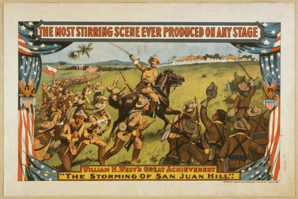 William H. West's great achievement, The storming of San Juan Hill