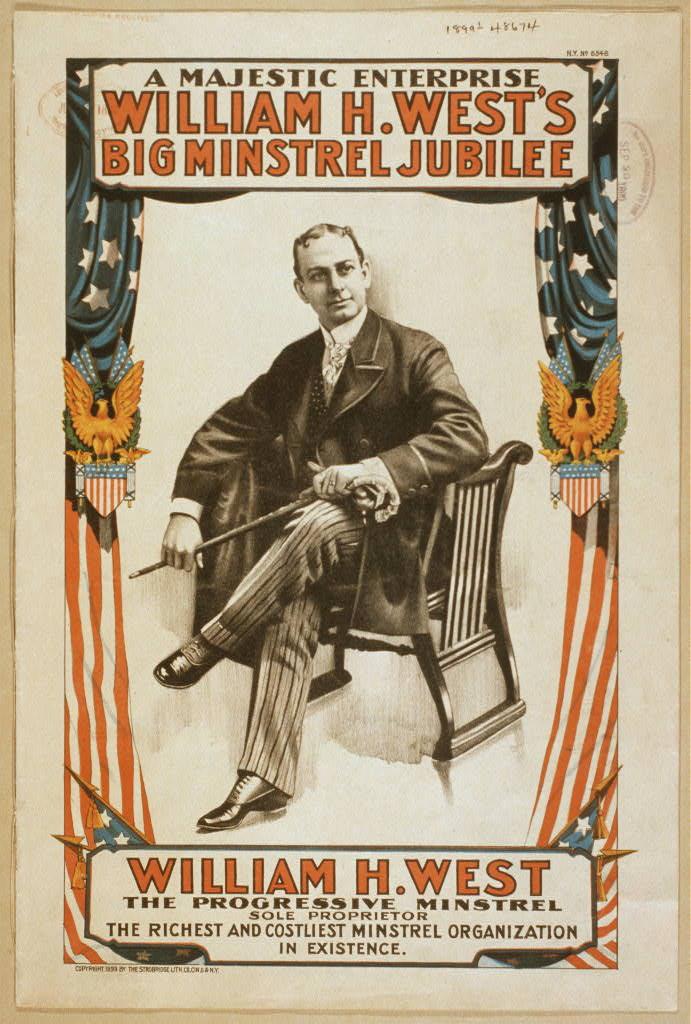 William H. West's Big minstrel jubilee a majestic enterprise.