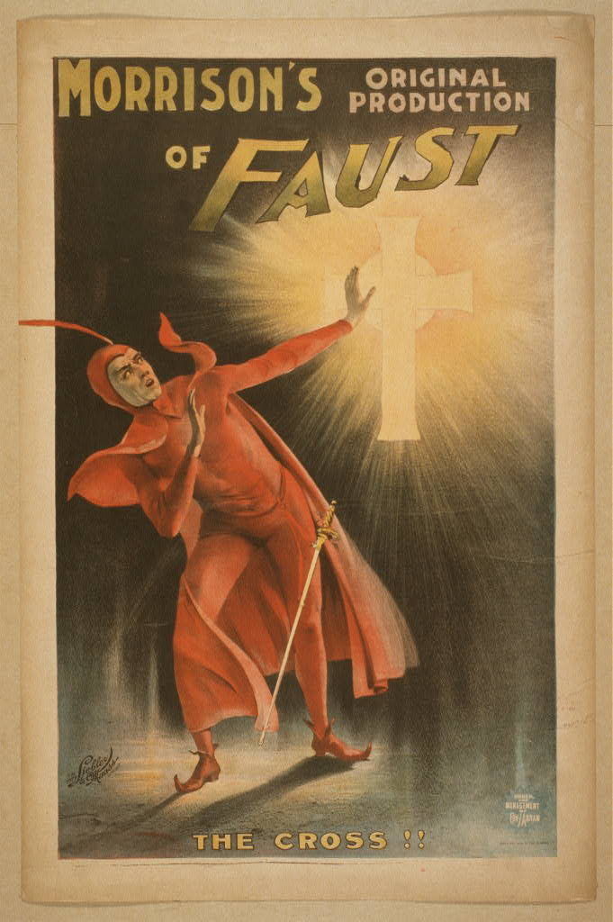 Morrison's original production of Faust